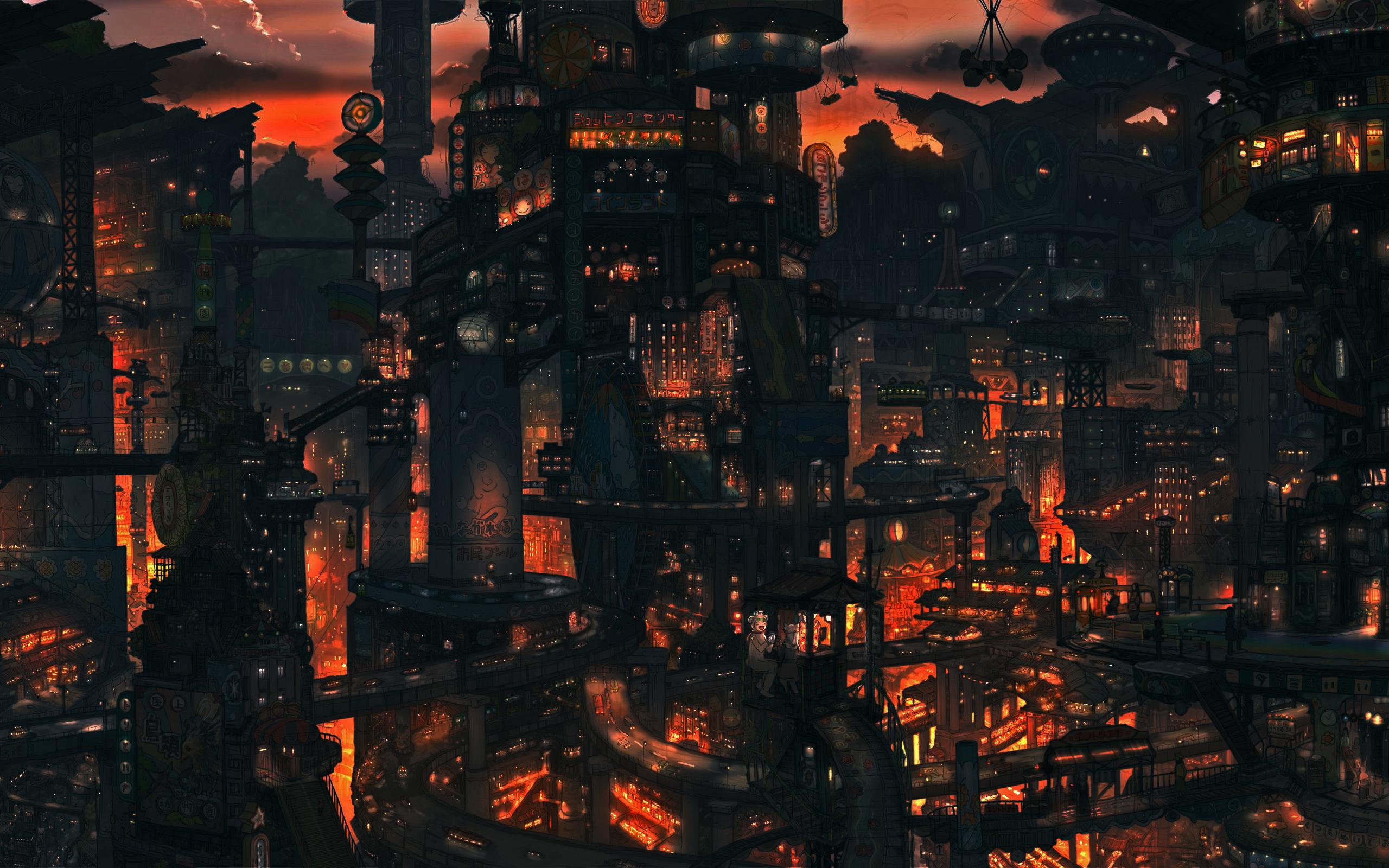 Wonderful Wallpaper Minecraft Steampunk - city4-wallpaper-588272  Trends_685216.jpg