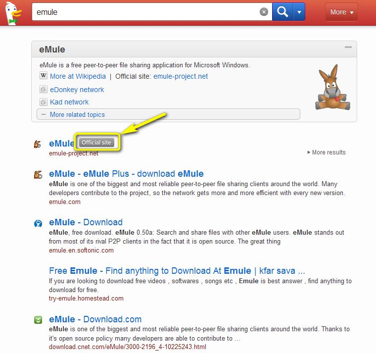 7465809f25530c Clin d œil également au moteur de recherche DuckDuckGo qui a l excellente  idée d afficher