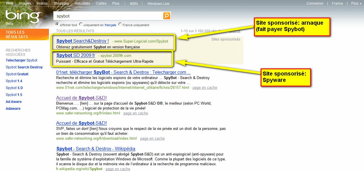 spybot gratuit 01net