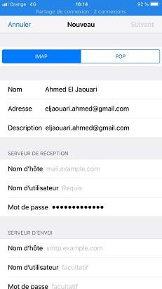 Recuperer mot de passe facebook enregistré android