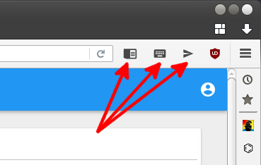 firefox new buttons