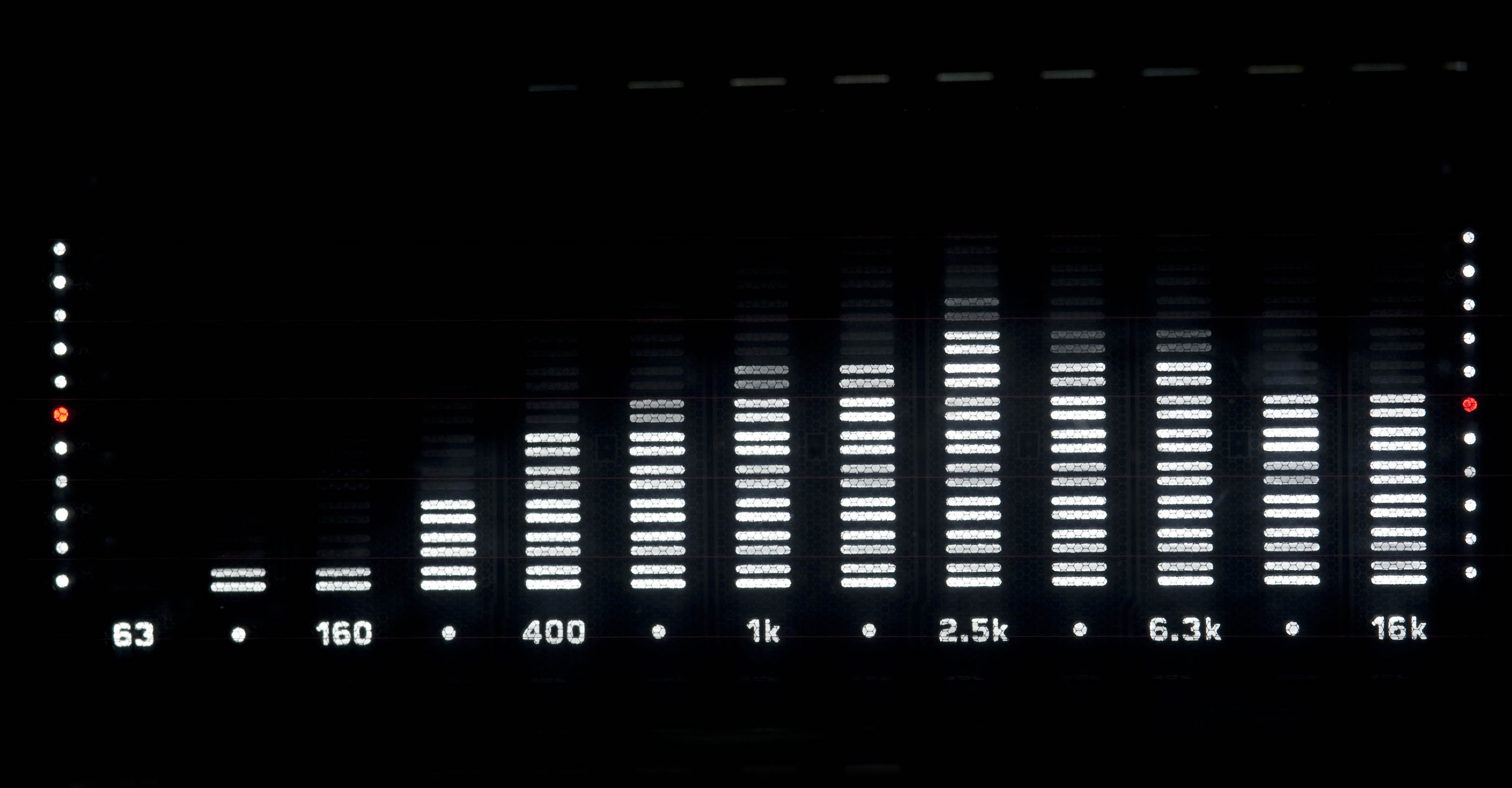 spectrum analyser frequencies